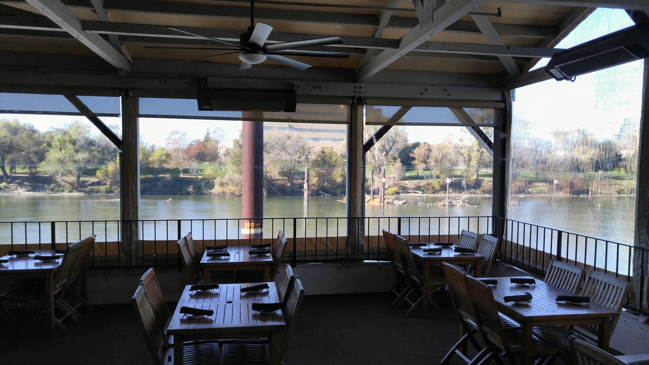 Santa Cruz Restaurant And Home Patio Plastic Curtains