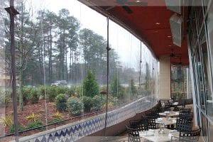 Outdoor Commercial Climate Control Patio Enclosures