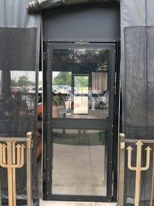 Custom Code Compliant Egress Door