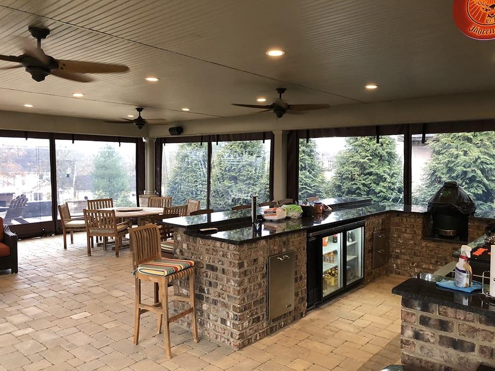 Commercial Restaurant Patio Enclosures