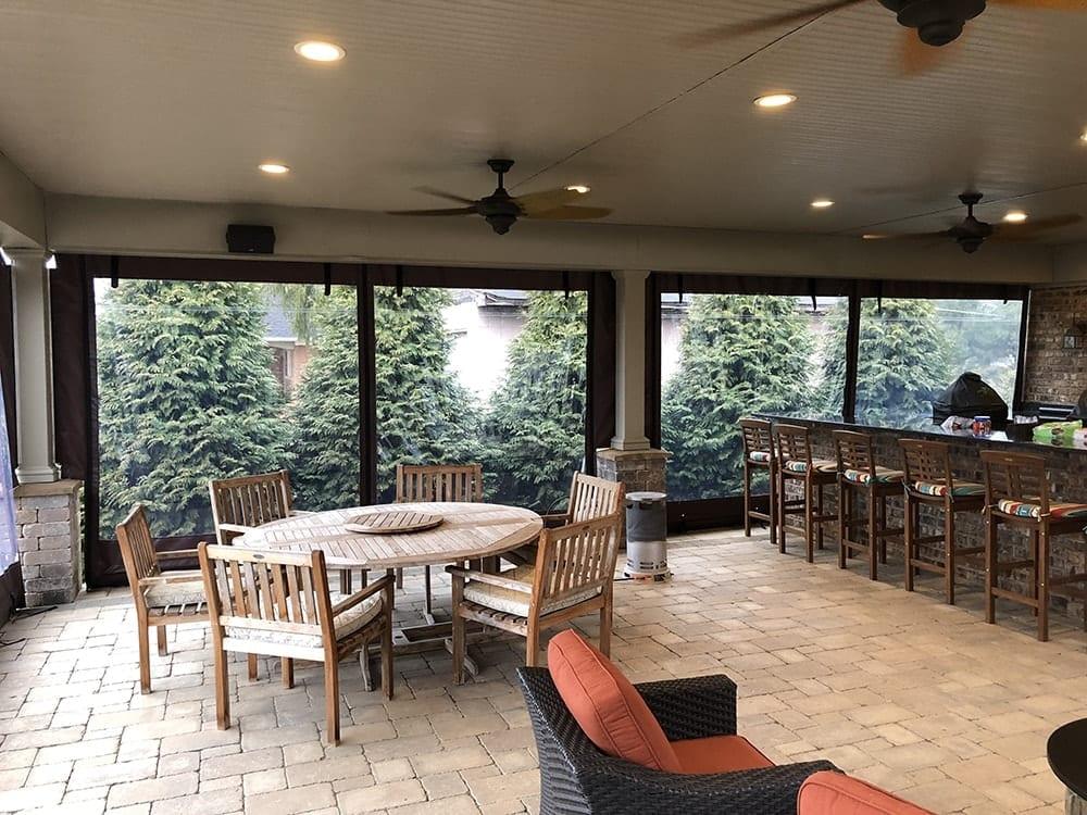 Restaurant Outdoor Patio Enclosures In Columbus Oh